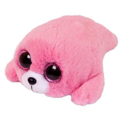 Мягкая игрушка Chuzhou Greenery Toys Тюлень розовый 10 см