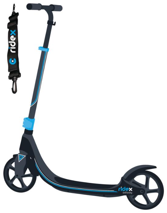 Городской самокат Ridex Infinity 200 мм