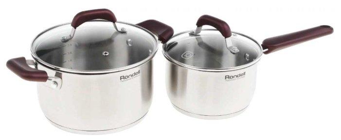 Набор посуды Rondell Bojole RDS-821 4 пр. стальной