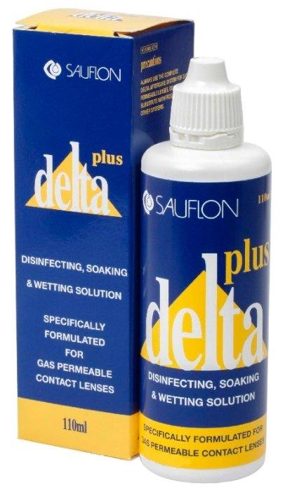 раствор Delta Plus многофункциональный для жестких контактных линз (100 мл.)