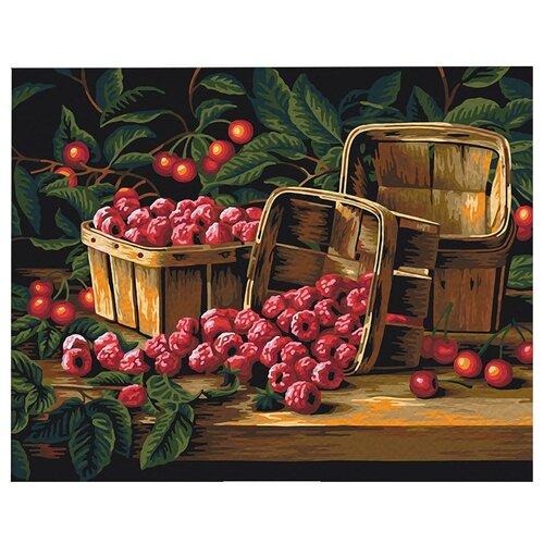 """Мосфа Картина по номерам """"Урожай малины"""" 40х50 см (7С-0231)"""