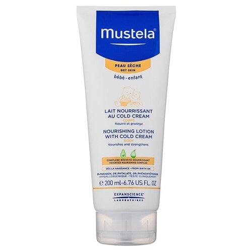 Mustela Питательное молочко для тела с кольд-кремом, 200 мл mustela цена в россии
