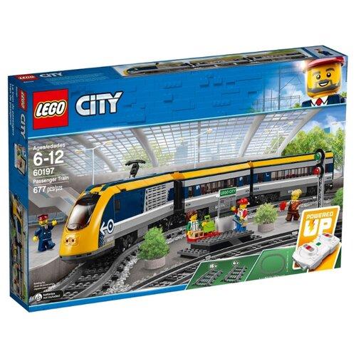 Купить Электромеханический конструктор LEGO City 60197 Пассажирский поезд, Конструкторы