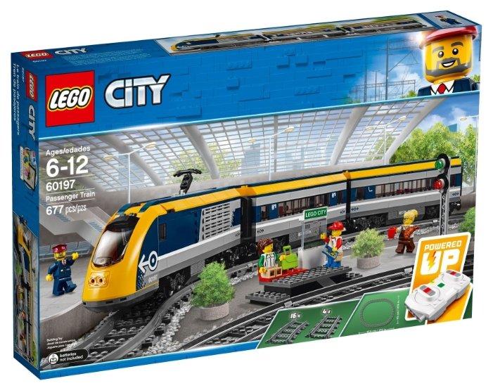 Lego City 60197 Пассажирский поезд