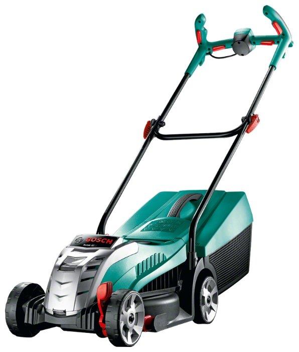 Аккумуляторная газонокосилка Bosch Rotak 32 Li. 0600885D06