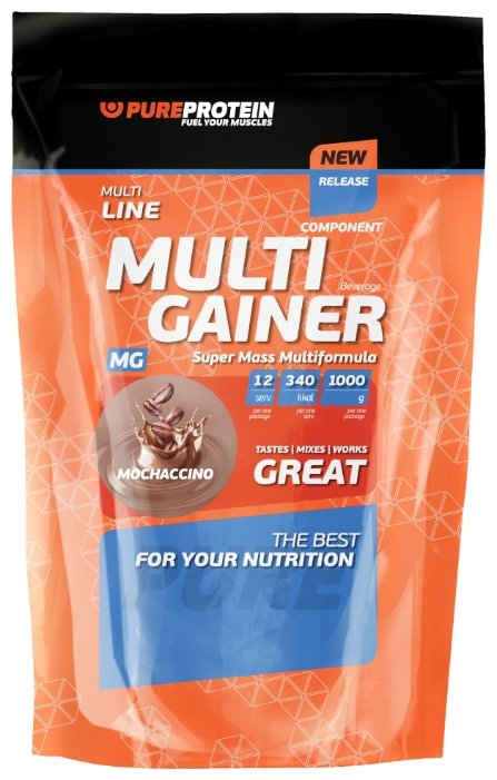 Гейнер Pure Protein Multicomponent Gainer (1000 г)