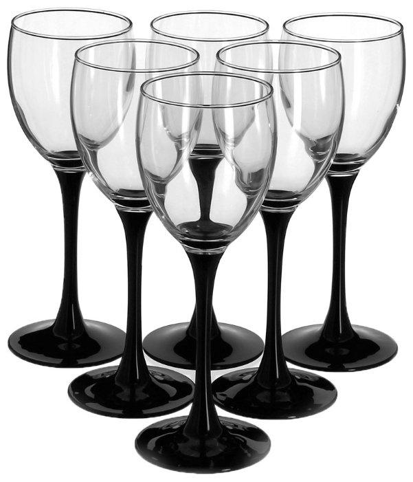 Luminarc Набор фужеров для вина Domino 6 шт 190мл J0042