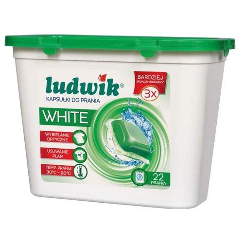 Капсулы LUDWIK White 22 шт. пластиковый контейнерКапсулы, таблетки, пластины<br>