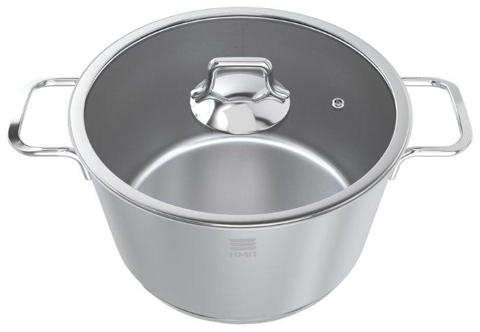 Кастрюля Нева металл посуда НМП Алмаз НС050, 5 л