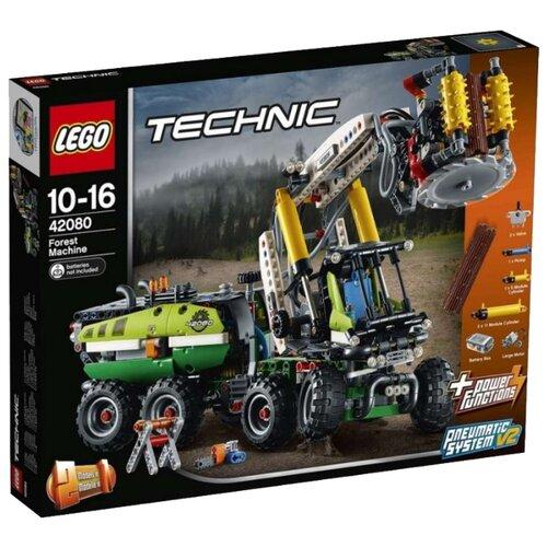 Электромеханический конструктор LEGO Technic 42080 Лесозаготовительная машина lego конструктор lego technic 42080 лесозаготовительная машина