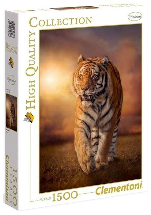 Пазл Clementoni High Quality Collection Могучий тигр (31806), 1500 дет.