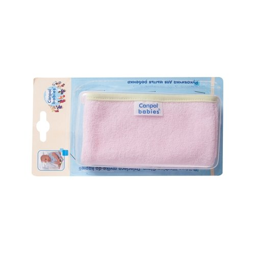 Мочалка Canpol Babies хлопковая (26/110) розовый