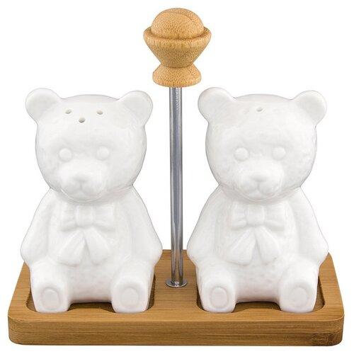 Elan gallery Набор для специй Медвежата набор аксессуаров для ванной elan gallery elan gallery mp002xu02i2u