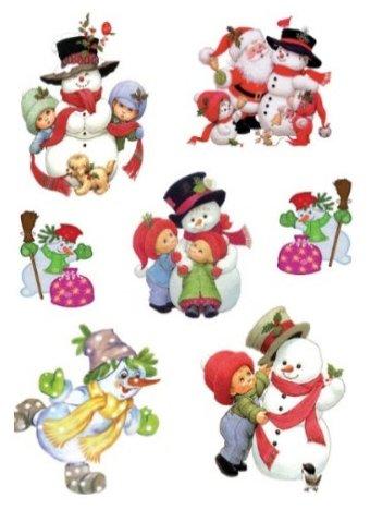 Наклейка интерьерная Русские подарки Зимние забавы 95153