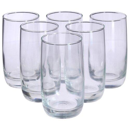 Фото - Luminarc Набор стаканов высоких French Brasserie 330 мл 6 шт H9369 бокал для шампанского luminarc french brasserie h9451 6 шт 210 мл
