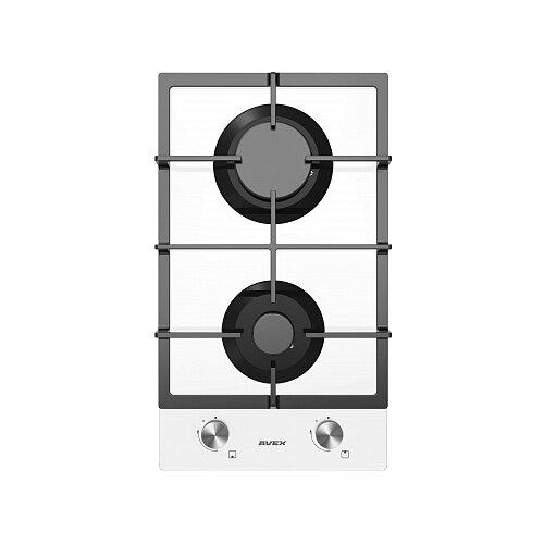 Газовая варочная панель AVEX HM 3022 W вытяжка avex nm 6060 w