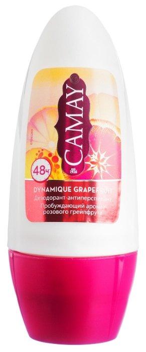 Дезодорант-антиперспирант ролик Camay Dynamique Grapefruit