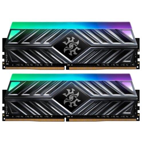 Оперативная память ADATA XPG Spectrix D41 DDR4 2666 (PC 21300) DIMM 288 pin, 8 ГБ 2 шт. 1.2 В, CL 16, AX4U266638G16-DT41