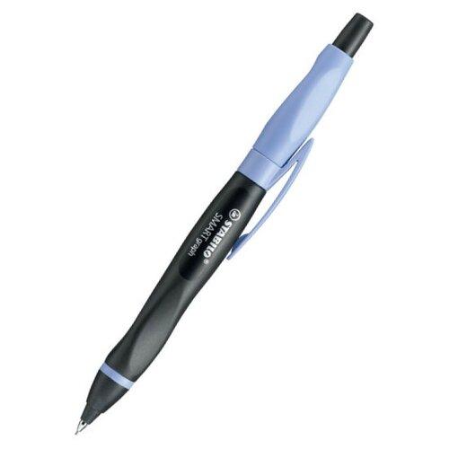 STABILO Механический карандаш Smartgraph для левшей со сменными грифелями HB, 0.7 мм, 3 шт. черный/сиреневый