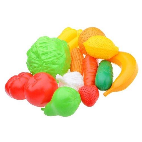 Фото - Набор продуктов Нордпласт Фрукты, овощи 437 разноцветный ролевые игры нордпласт набор фрукты овощи 13 предметов