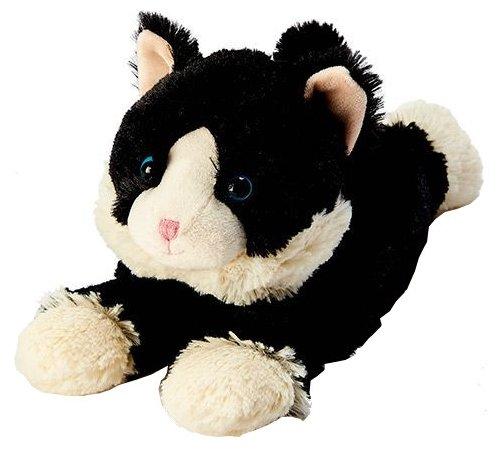 Игрушка-грелка Warmies Cozy plush Киса черная 25 см