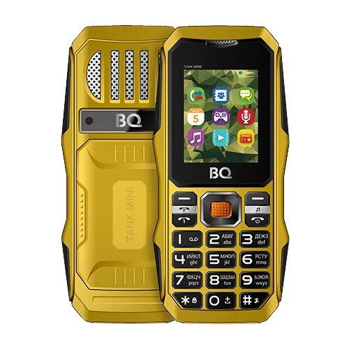 цена на Телефон BQ 1842 Tank mini желтый