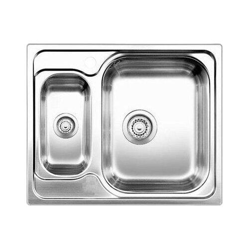 Врезная кухонная мойка 60.5 см Blanco Tipo 6 Basic 514813 нержавеющая сталь/матовая