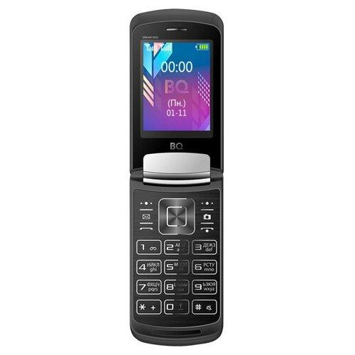 Телефон BQ 2433 Dream DUO черный [available with 10 11] linen duo love dream
