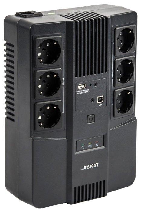 Интерактивный ИБП БАСТИОН SKAT-UPS 800 AI