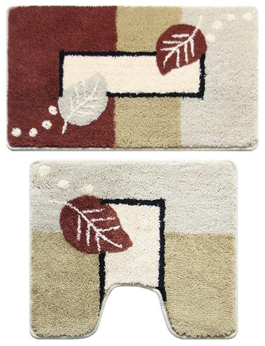 Набор ковриков для ванной Milardo Late Autumn 340PA68M13