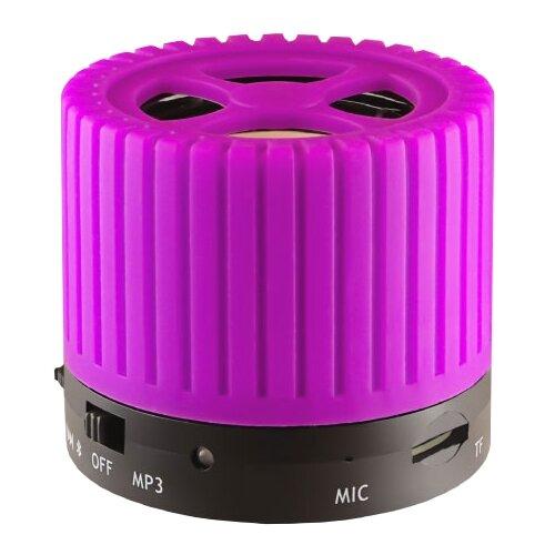 Портативная акустика Ginzzu GM-988 фиолетовый