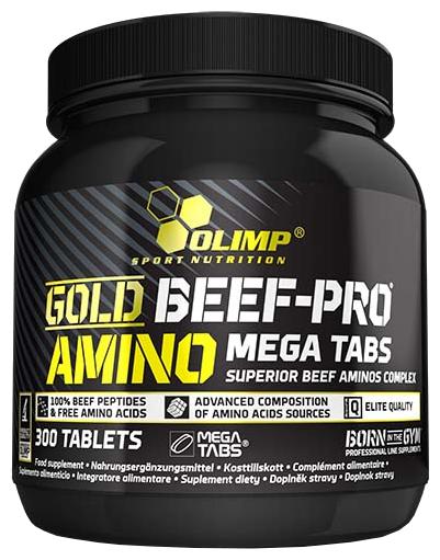 Аминокислотный комплекс Olimp Gold Beef Pro Amino Mega (300 таблеток)