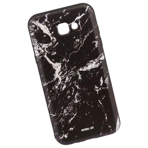 Чехол WK WK06 для Samsung Galaxy A7 (2017) черный мрамор