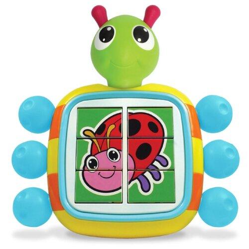 Купить Интерактивная развивающая игрушка Tomy Веселый жук голубой/зеленый/красный, Развивающие игрушки