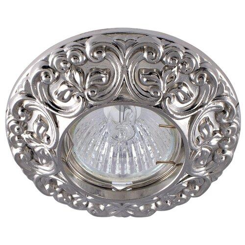 Встраиваемый светильник De Fran FT 1234 SN, сатин-никель треугольник de fran ft 9228 g smd