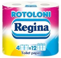 Туалетная бумага Regina Rotoloni двухслойная 4 шт.