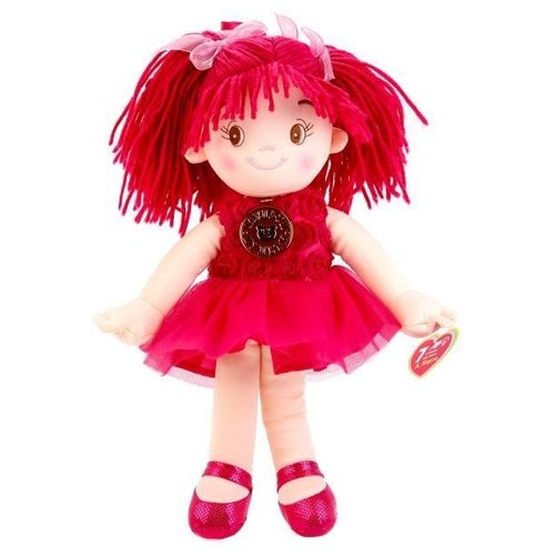 Купить Мягкая игрушка Мульти-Пульти Мягкая кукла красная 35 см, Мягкие игрушки