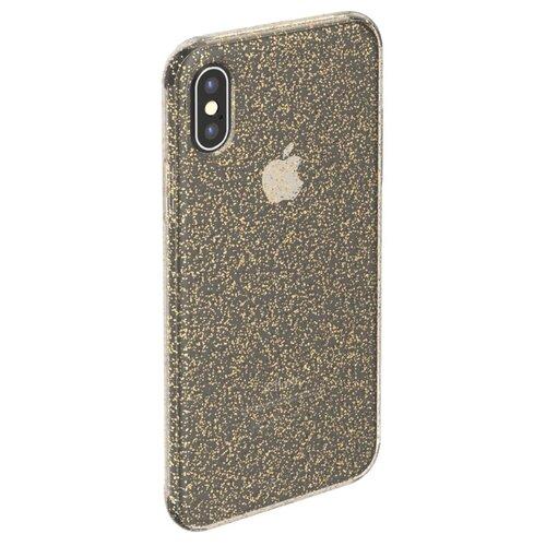 Фото - Чехол-накладка Deppa Chick Case для Apple iPhone X/Xs золотой чехол deppa air case для apple iphone x xs синий