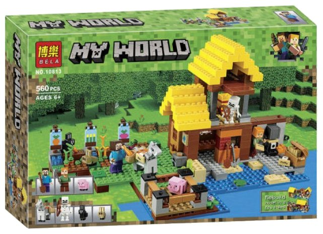 Конструктор BELA (Lari) My World 10813 Фермерский коттедж