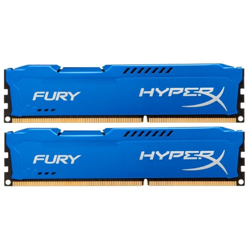 Купить Оперативная память HyperX DDR3 1866 (PC 14900) DIMM 240 pin, 4 ГБ 2 шт. 1.5 В, CL 10, HX318C10FK2/8