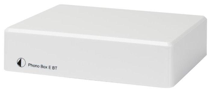 Фонокорректор Pro-Ject Phono Box E BT white фото 1