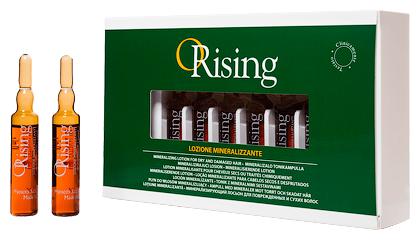 ORising Минерализирующий тоник для сухих и ломких волос (ампулы)