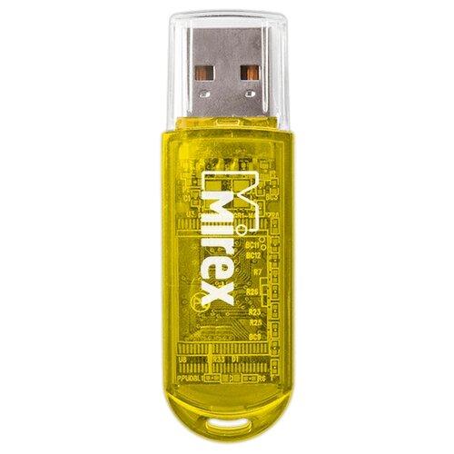 Фото - Флешка Mirex ELF 4 GB, желтый флешка mirex line 4 gb белый