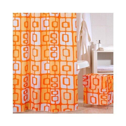 Штора для ванной IDDIS 280P24RI11 240x200 оранжевый