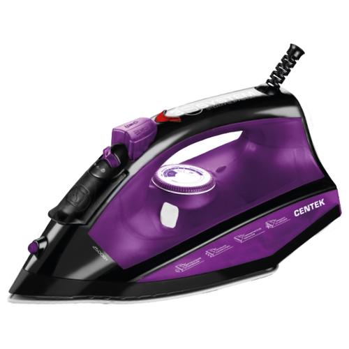 Утюг CENTEK CT-2355 фиолетовый/черный