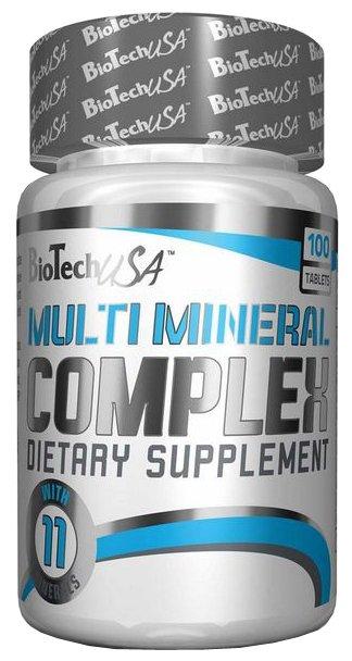 Мультиминералы BioTech Multi Mineral Complex (100 таблеток)