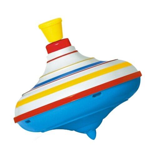 Юла Stellar полосатая большая (01317) голубой/красный/желтый игрушка chuc юла