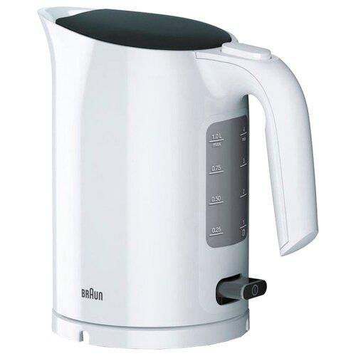 Чайник Braun WK 3000, белый чайник braun wk 500 белый