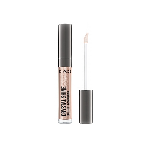DIVAGE Блеск для губ Lip Gloss Crystal Shine, 02 блеск для губ divage lip gloss crystal shine 02