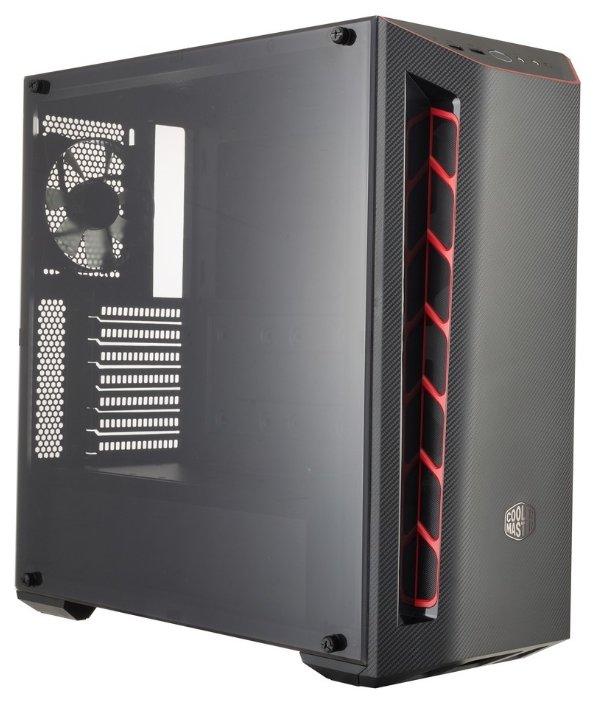 Cooler Master Компьютерный корпус Cooler Master MasterBox MB510L (MCB-B510L-KANN-S00) Black/red
